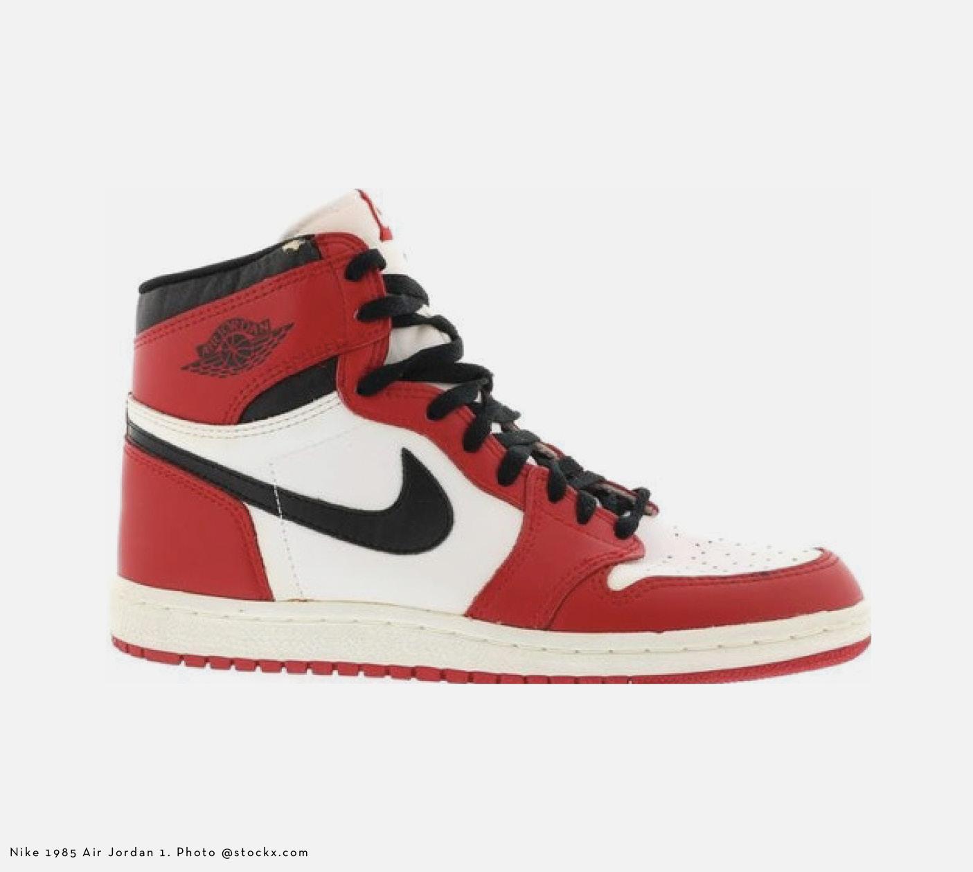 Archive Culture Mens Style - Nike 1985 Air Jordan 1