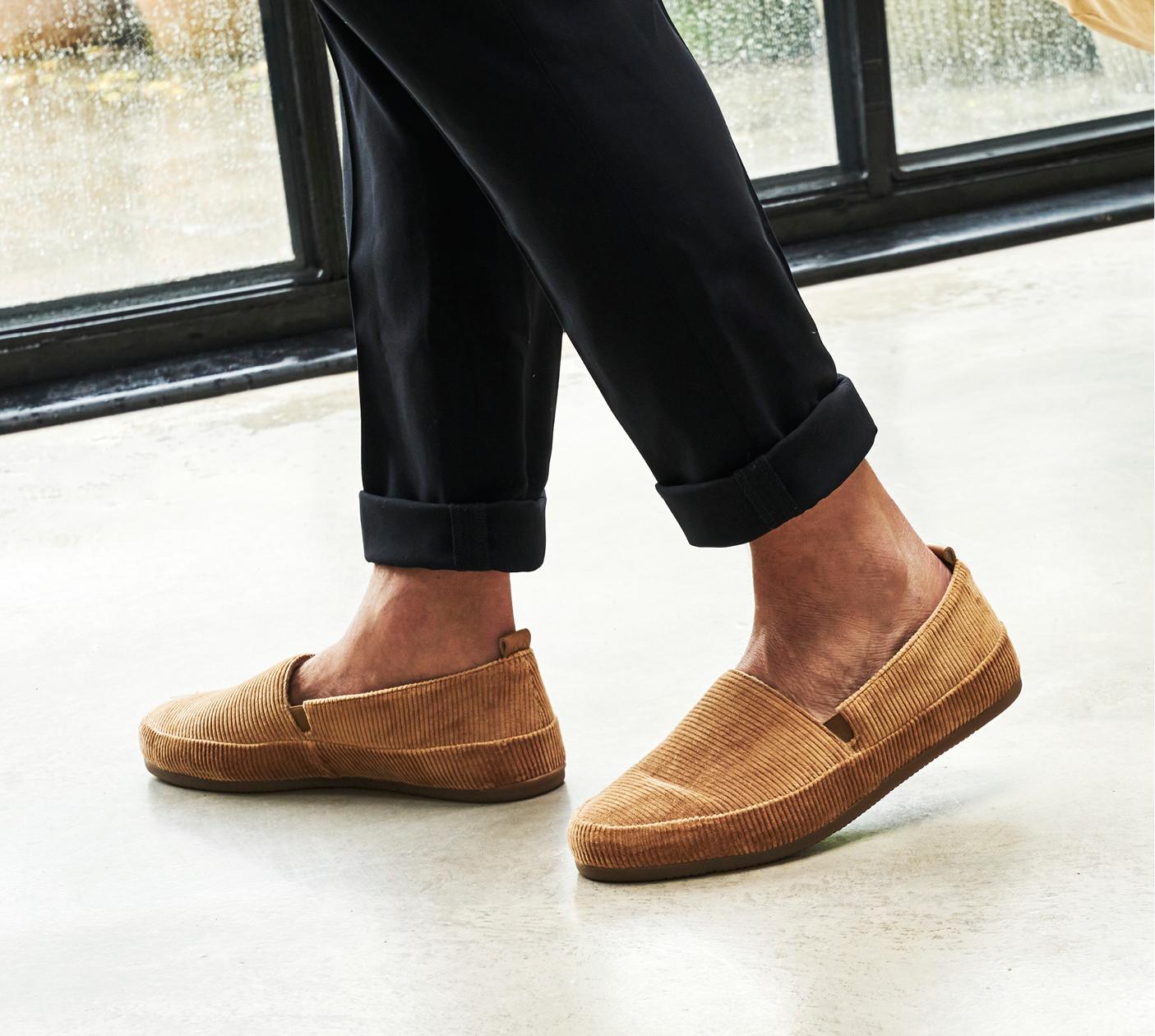 Corduroy Mens Slippers