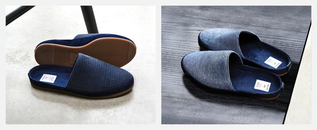 Limited Edition MULO x Hamilton and Hare - Blue Mens Slippers