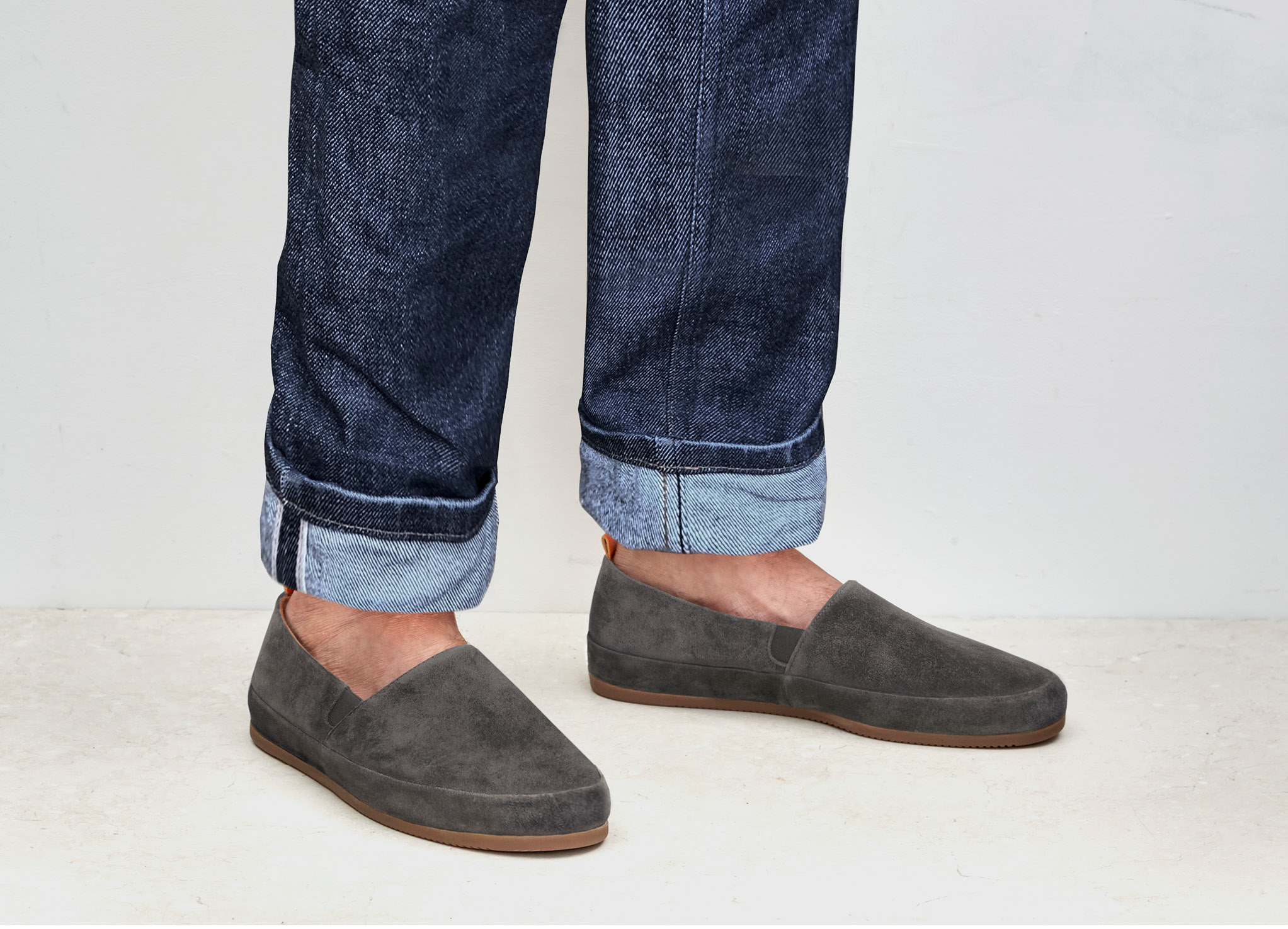Mens Brown Loafers | MULO shoes | High-quality Italian Suede