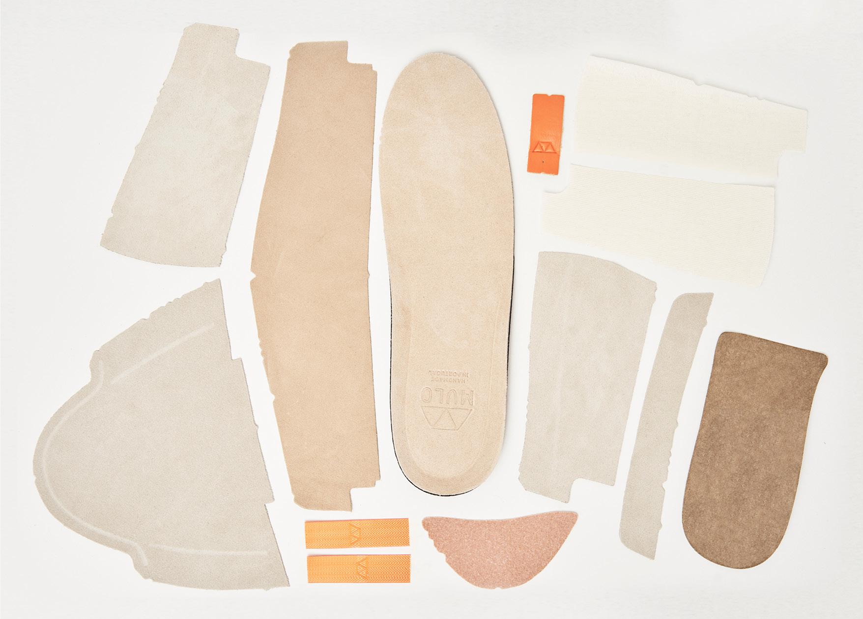 MULO shoe components