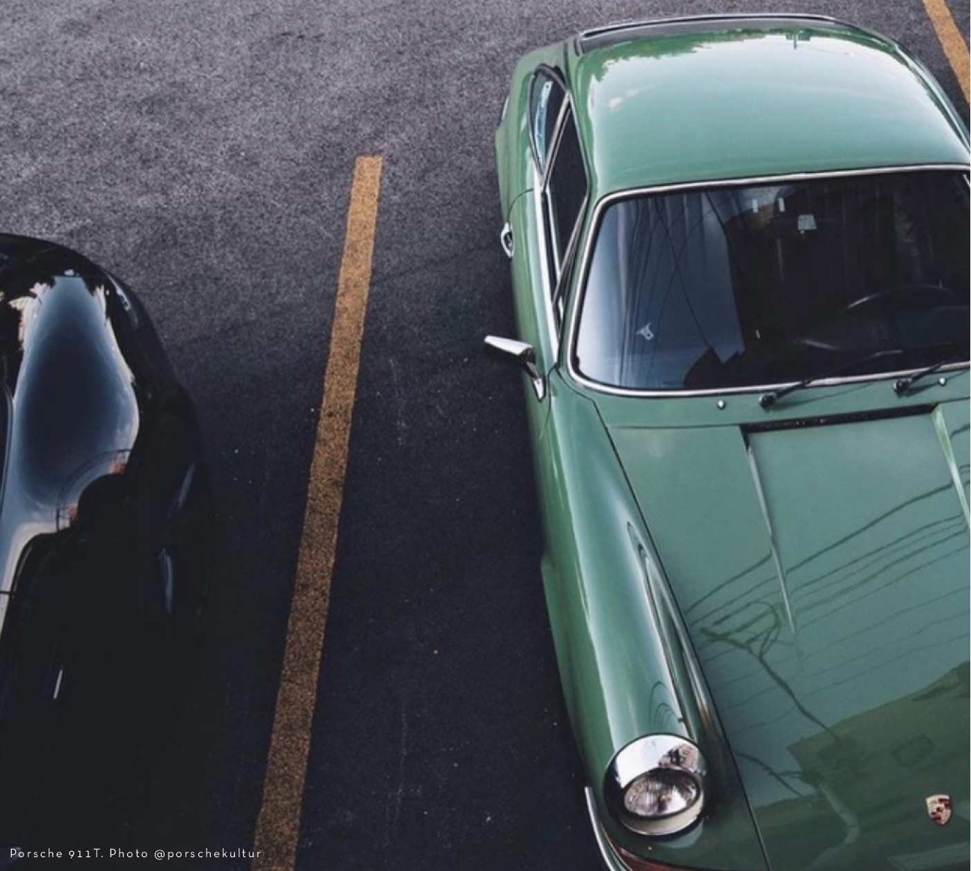 Porsche 911T in Irish Green - Colour Inspiration