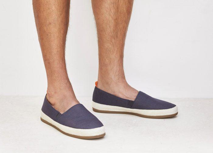 Mens Dark Blue Espadrilles | MULO shoes