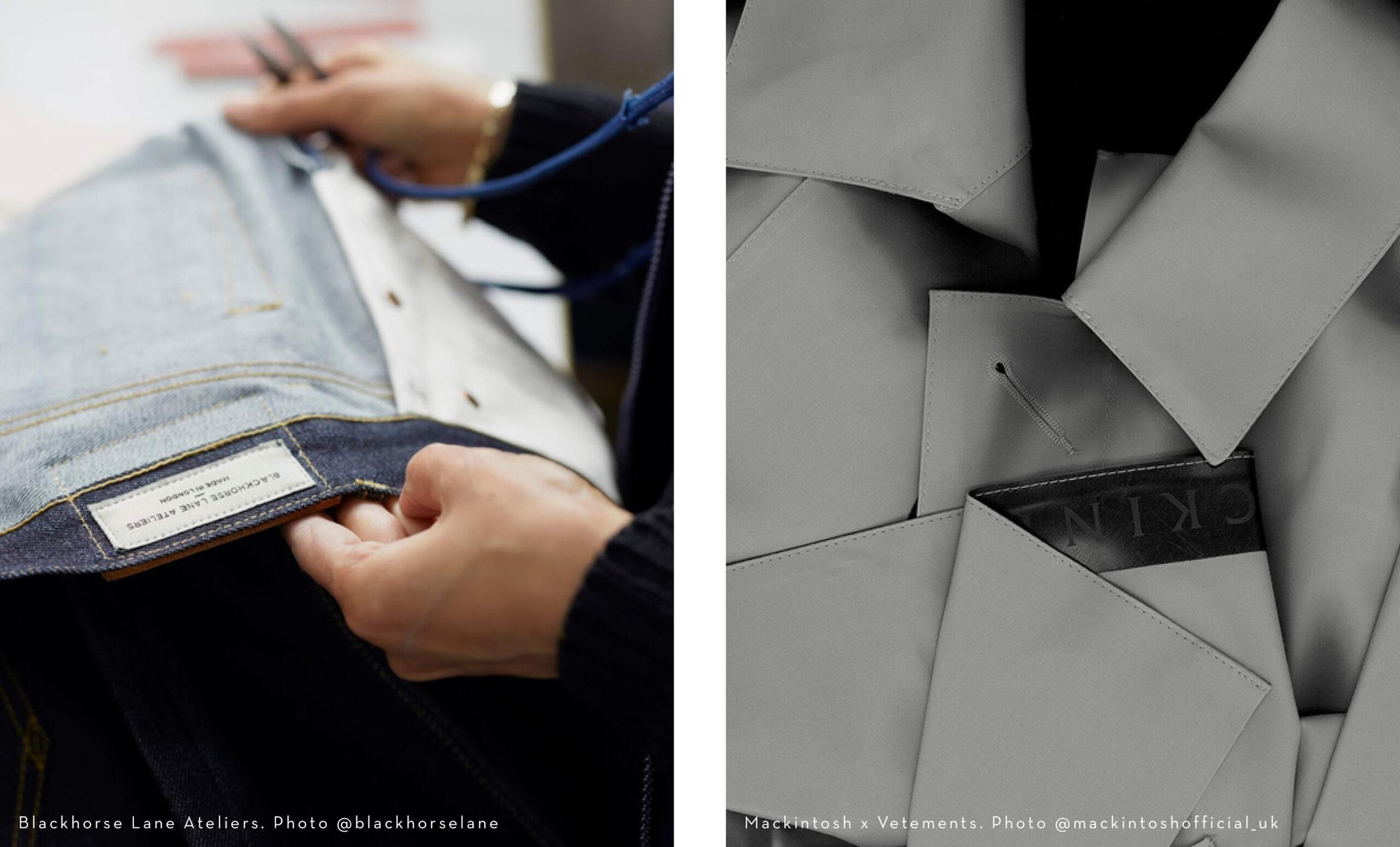 Precision Design - Blackhorse Lane Ateliers - Mackintosh x Vetements