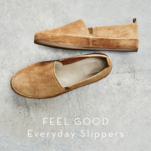 Christmas Gifts - Mens Slippers, Feel good everyday slippers