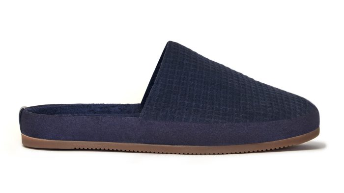 Limited Edition Mens Slippers - Blue Slippers -MULO x Hamilton and Hare