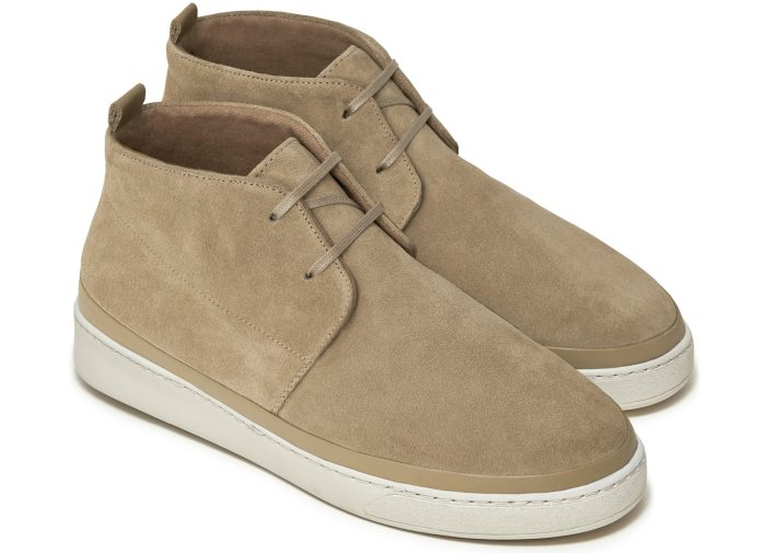 Desert Boots for Men in Tan Suede | MULO shoes