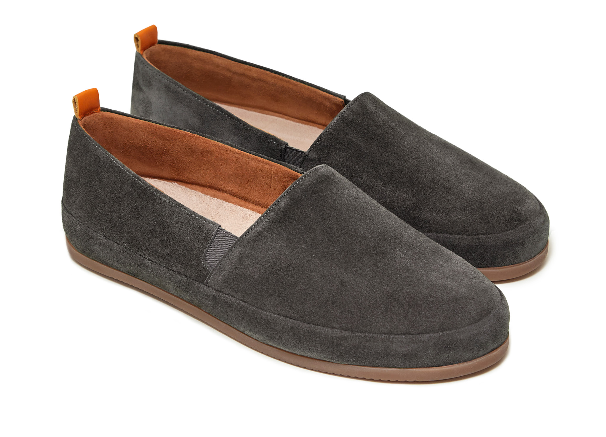 Brown Loafers for Men in Suede | MULO shoes
