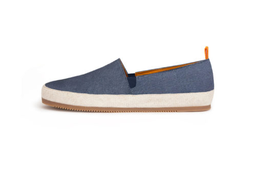 MULO shoes Espadrille Cotton Blue Basic Contemporary Design