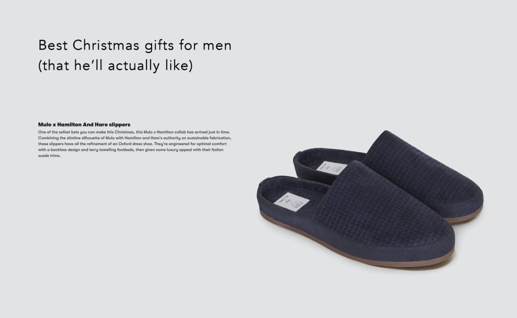 Mens Slippers - Gifts for Men Christmas by GQ