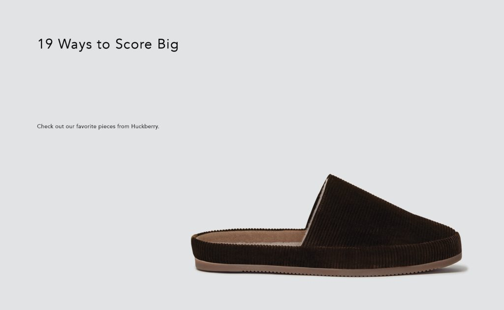 GQ - Mens Corduory Slippers