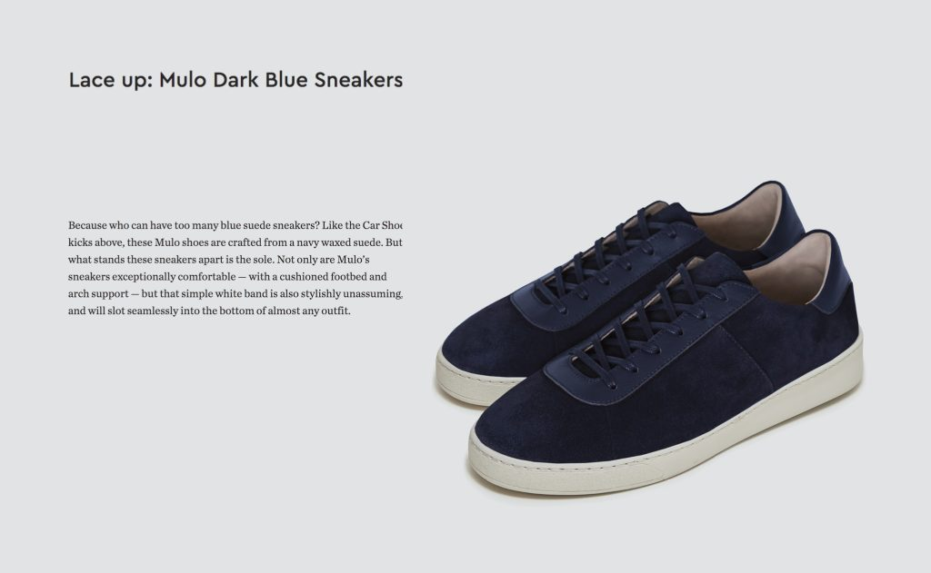Gentlemans Journal - Mens Sneakers