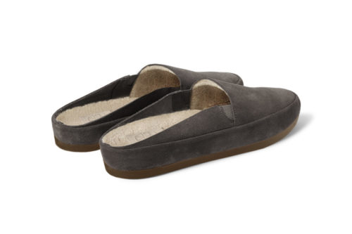 MULO shoes | Suede Brown Backless Slippers