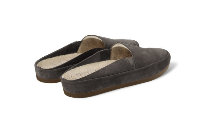 Mens Slippers in Brown Suede | MULO shoes