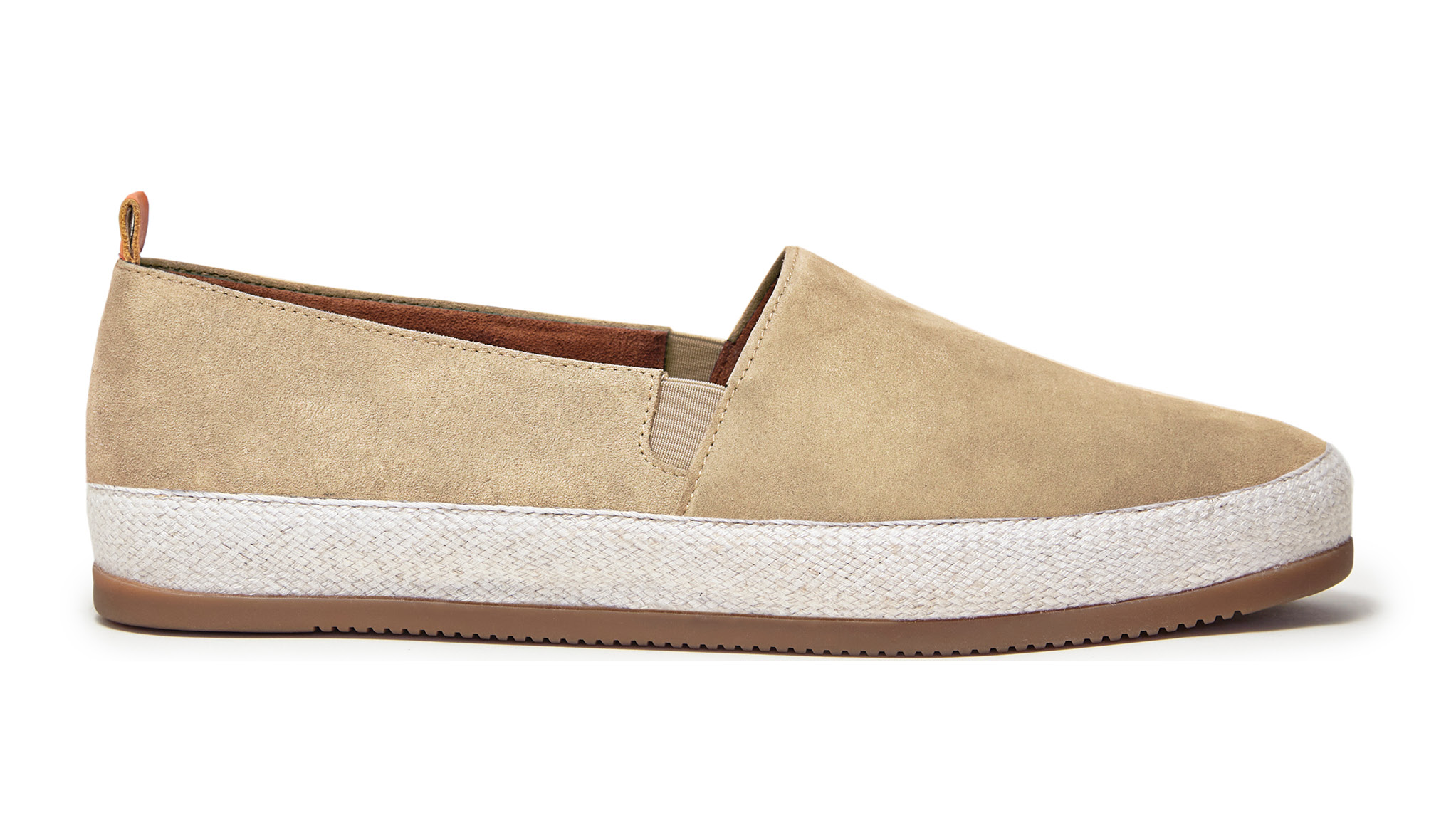 Suede Tan Sand Espadrille | MULO shoes