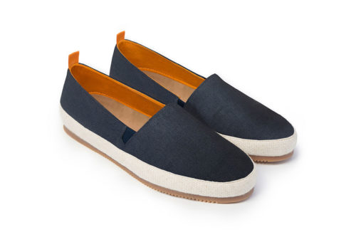 Mens Espadrilles in Navy Blue | MULO shoes
