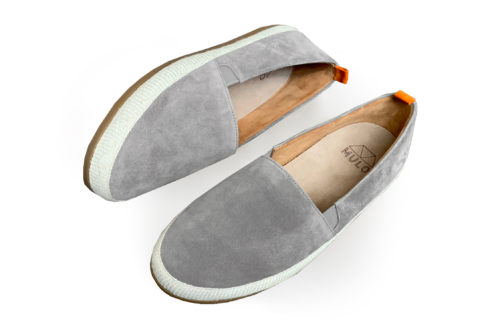 Mens Espadrilles in Grey Suede | MULO shoes
