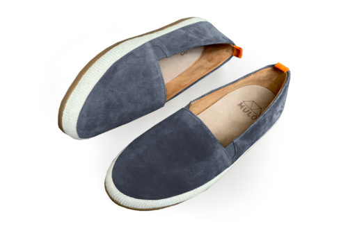 Leather Espadrilles for Men in Slate Suede | MULO shoes