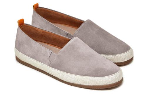 Mens Espadrilles in Grey Suede | MULO shoes