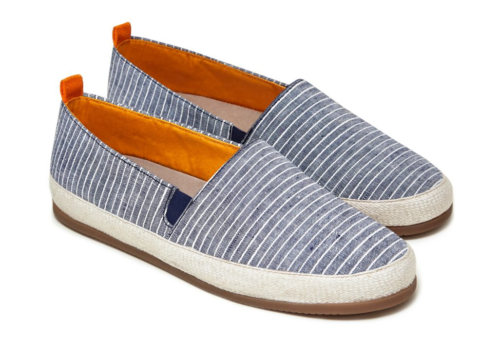 Mens Striped Espadrilles in Breton | MULO shoes