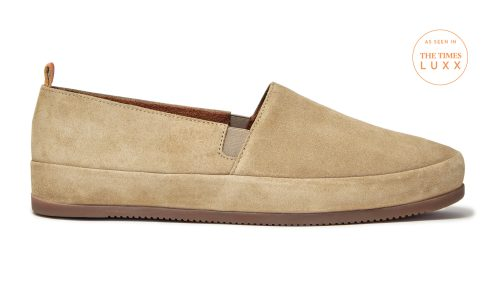 MULO shoes - Mens Tan Shoes in Suede