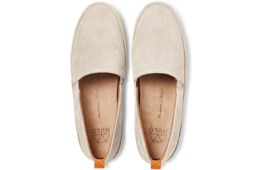 MULO shoes | Natural Suede Loafers