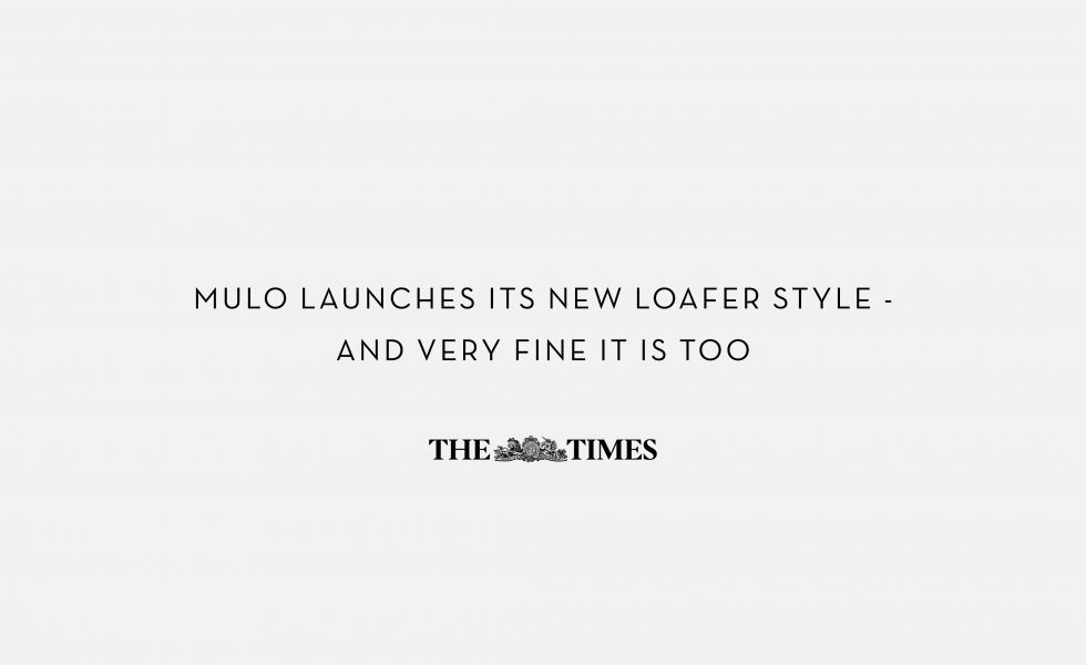 MULO shoes | Press | The Times