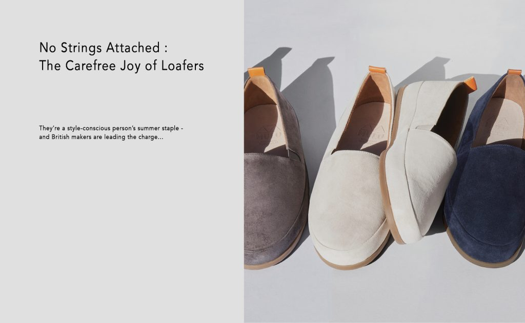 Robb Report - Summer Loafers