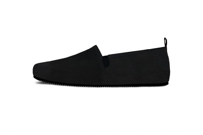 MULO Suede Black Loafer