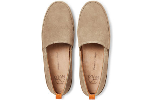 MULO shoes | Tan Suede Loafers