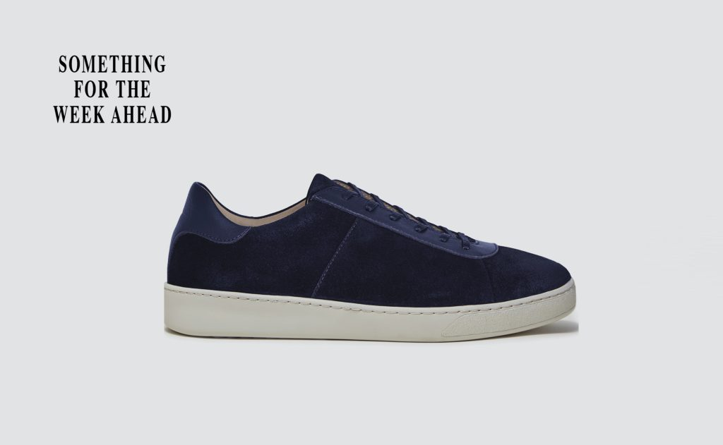 Telegraph Magazine - Suede Mens Sneakers