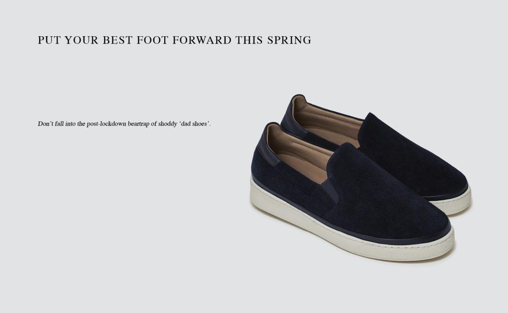 The Telegraph - Spring Footwear for Men