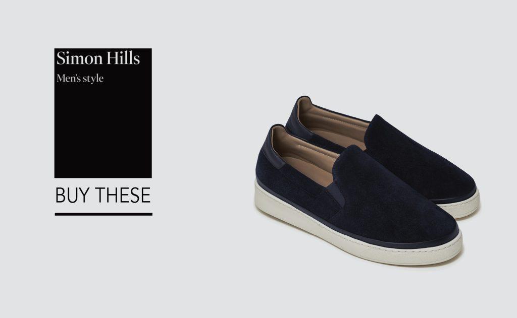 Slip-on Suede Sneakers