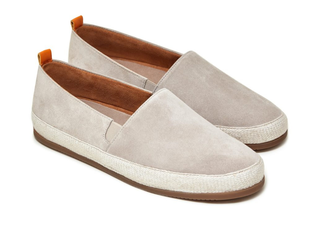 White Espadrilles for Men in Suede | MULO shoes