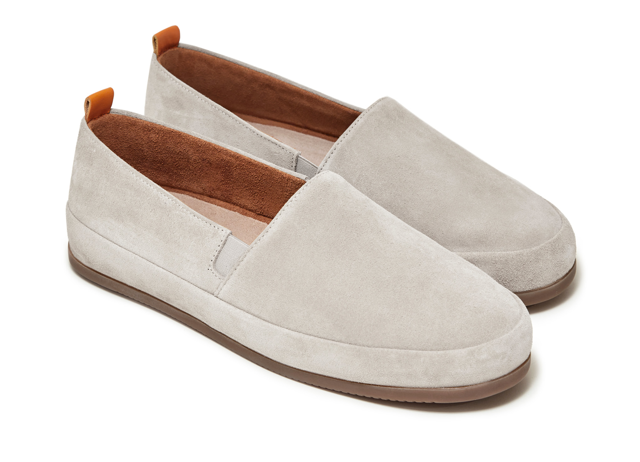 White Loafers for Men in Suede | MULO shoes