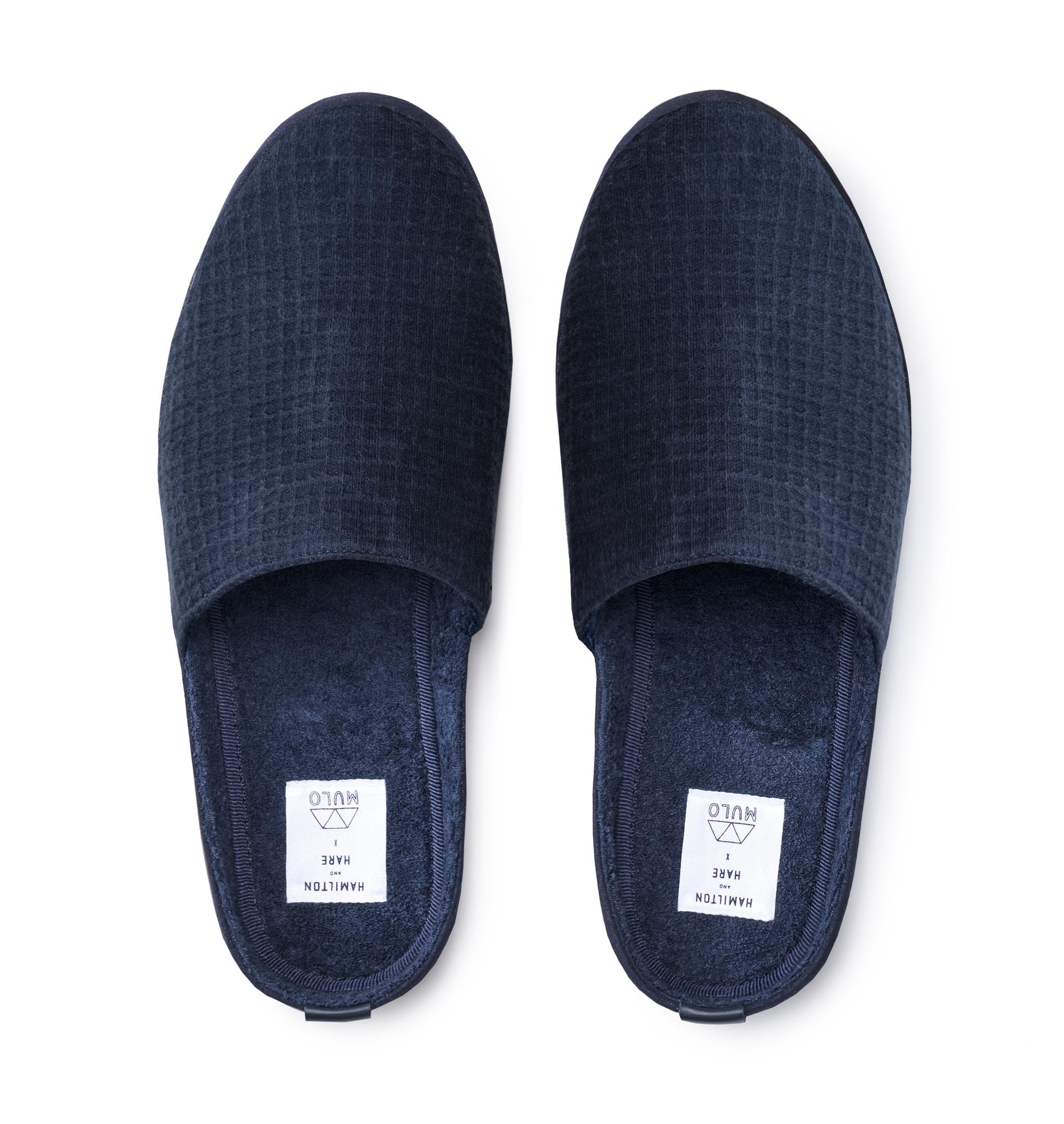 Designer Slippers for Men in Blue