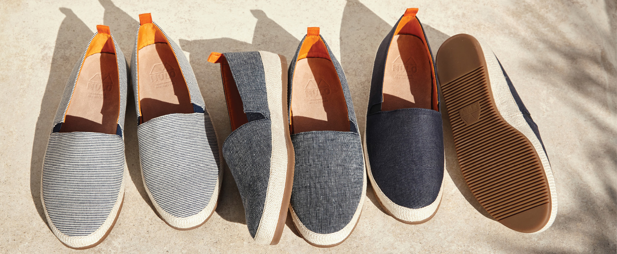 Casual Shoes for Summer - Mens Espadrilles