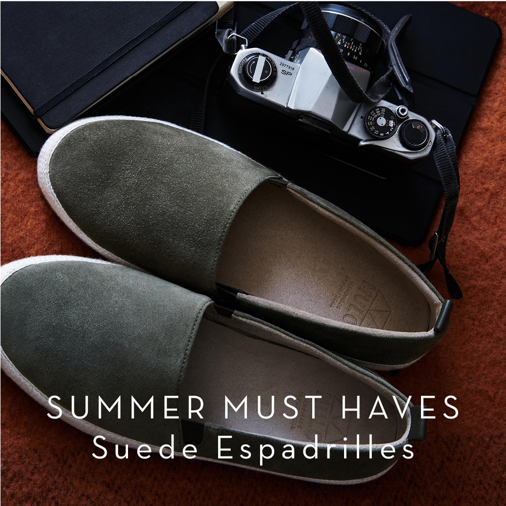 Mens Espadrilles - Fathers Day Gifts
