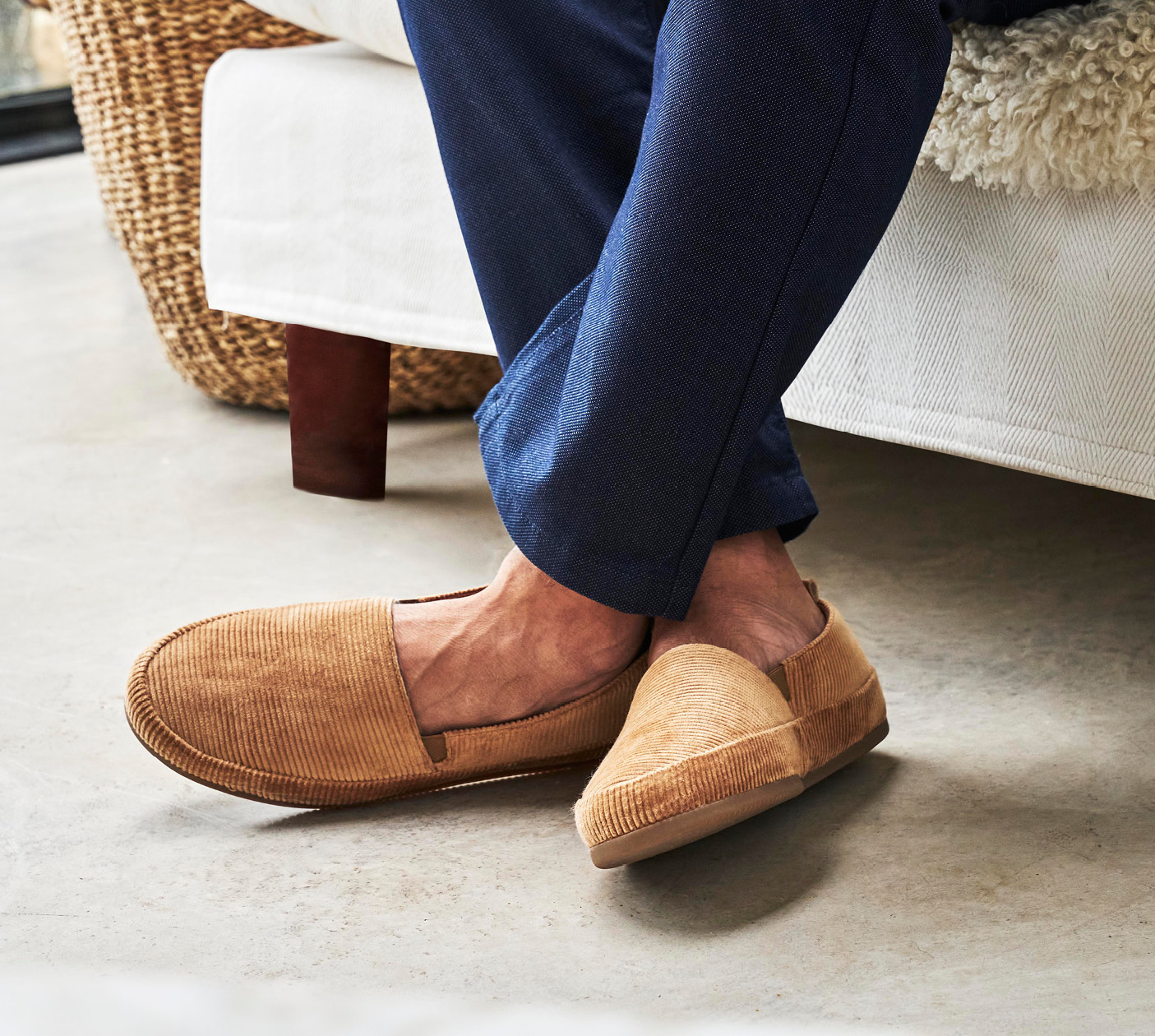 Mens Slippers - Mens Slip-On Shoes
