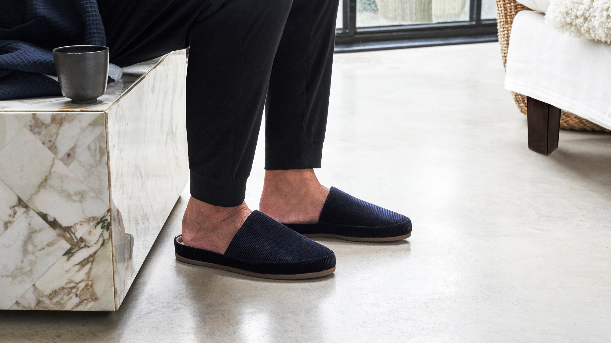 Slippers for Men - At Home Comfort and Style