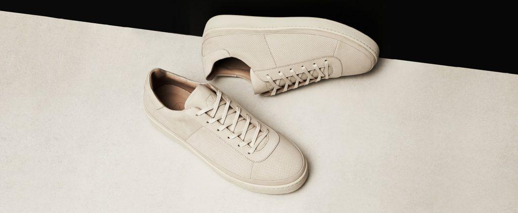 Perforated Nubuck Sneakers for Men