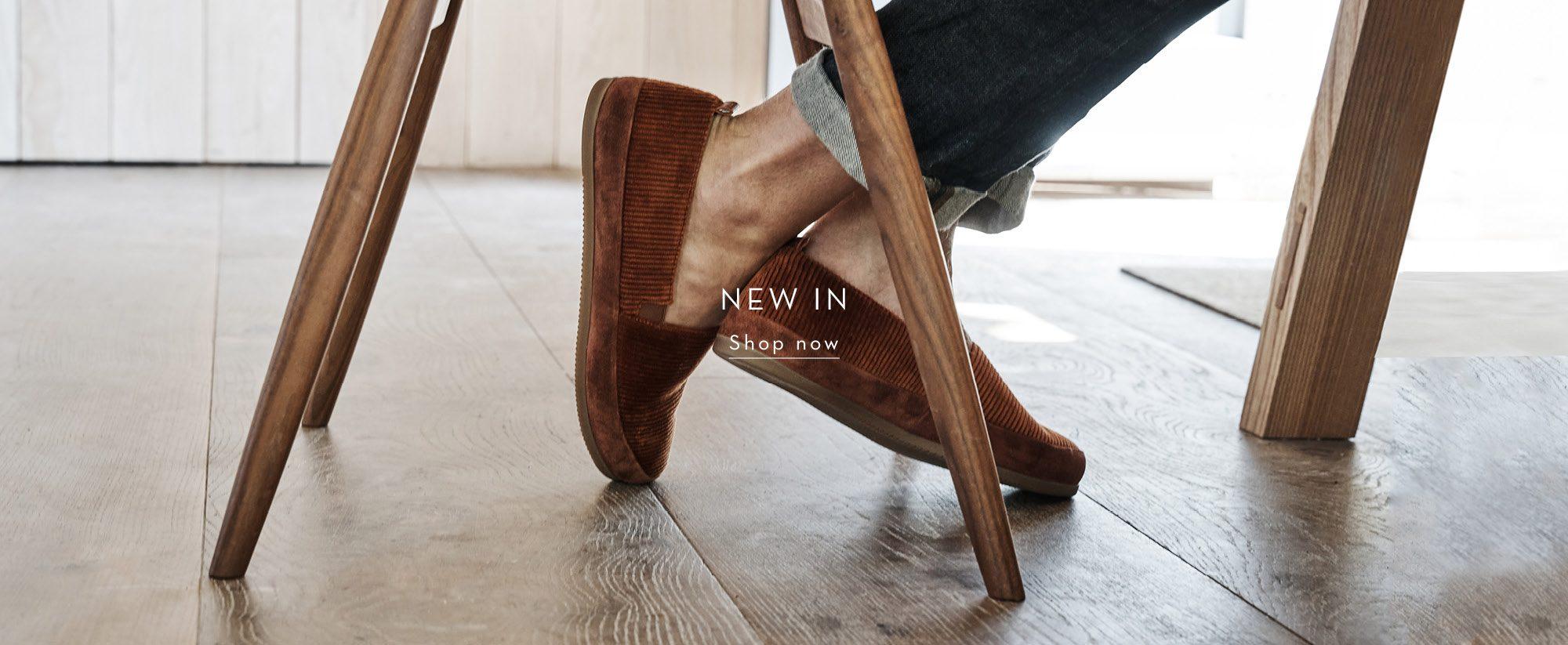 New Corduroy Mens Slippers