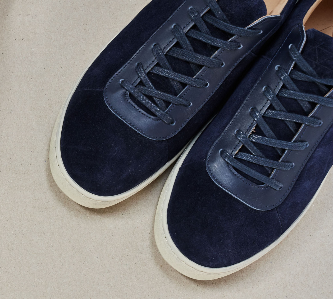 New Season - MULO AW21 - Navy Suede Sneakers