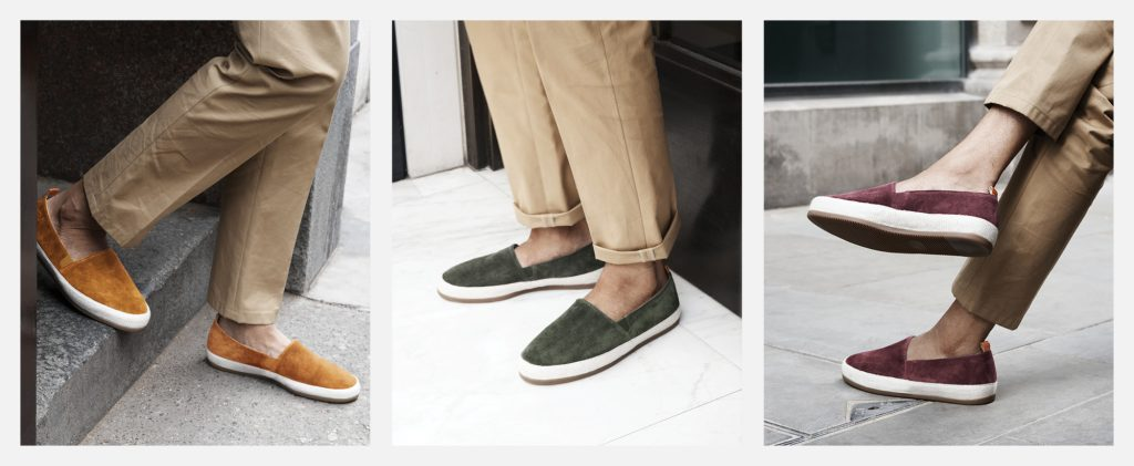 Mens Espadrilles in Suede - Stepping out in Style
