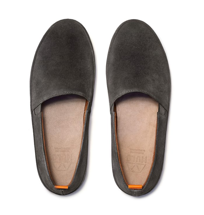 Mens Brown Loafers in Suede | MULO shoes