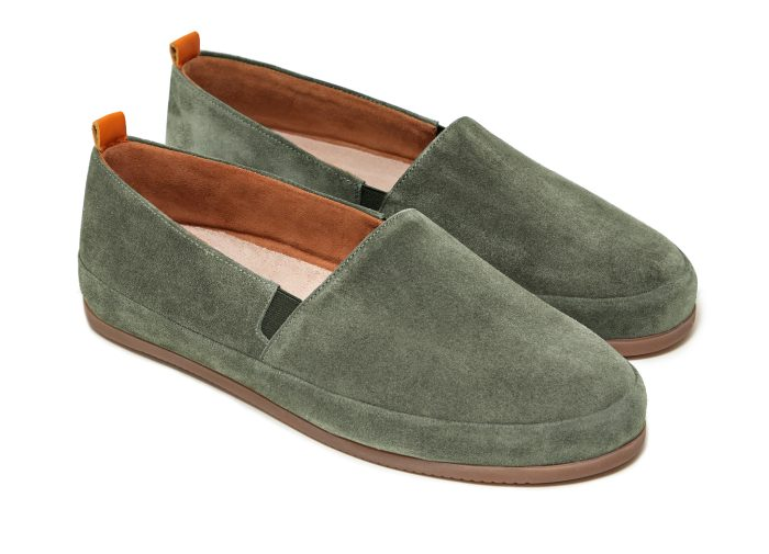 Khaki Loafers for Men in Suede | MULO shoes