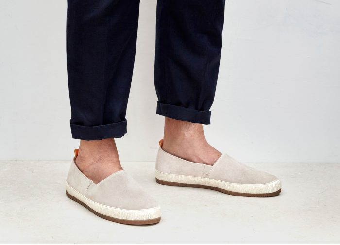 Suede White Espadrilles for Men | MULO shoes