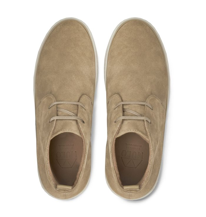 Mens Chukka Boots in Suede Tan