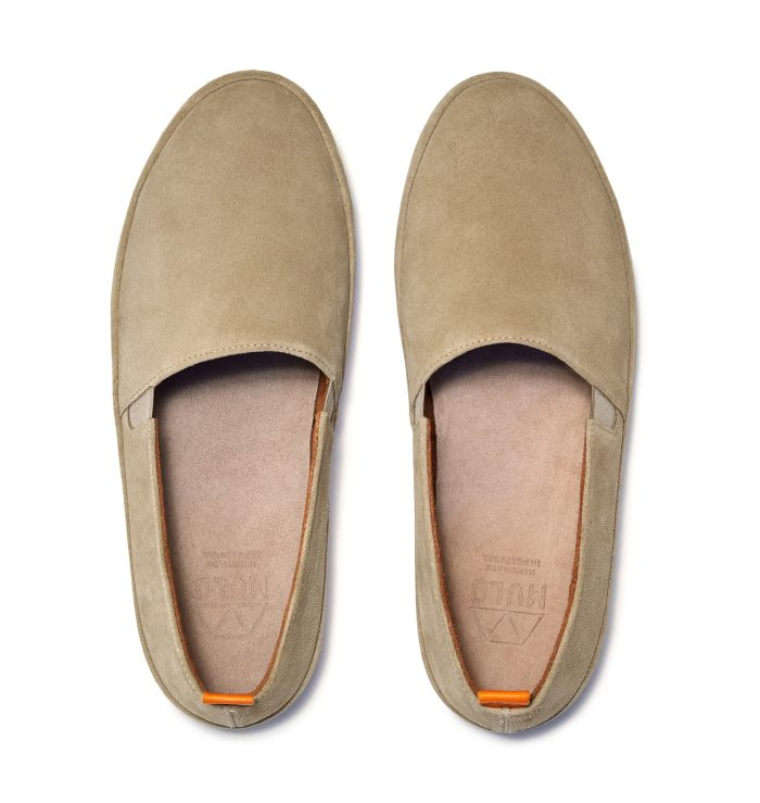 Mens Tan Shoes in Suede | MULO shoes