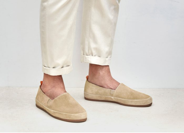 Suede Tan Loafers for Men | MULO shoes